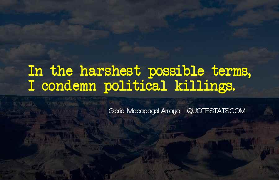Political Killings Quotes #1568622