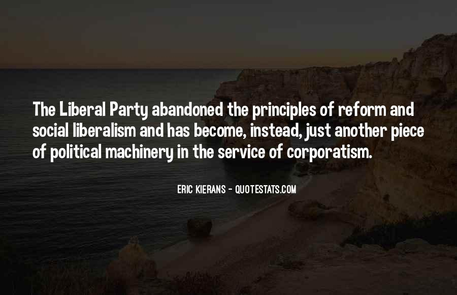 Political Liberalism Quotes #362585
