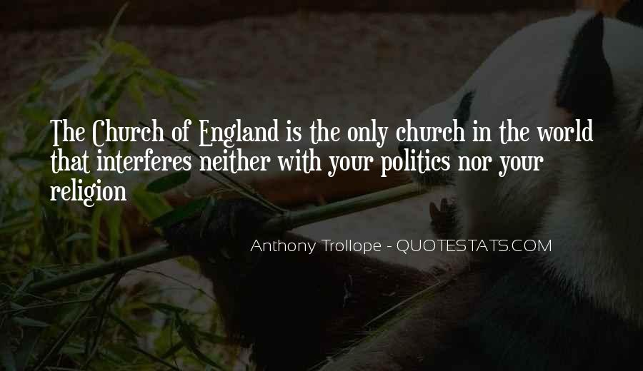 Politics And Christianity Quotes #1056671