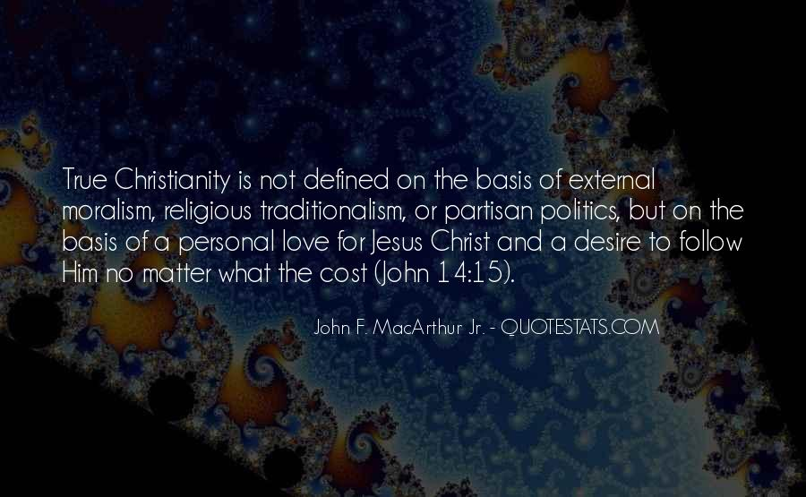 Politics And Christianity Quotes #118233