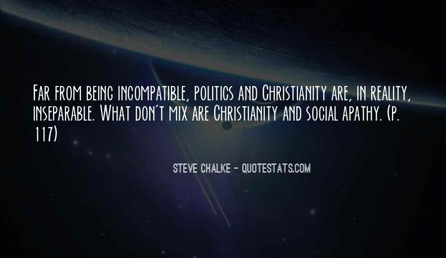 Politics And Christianity Quotes #1657413