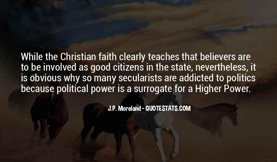 Politics And Christianity Quotes #1703323