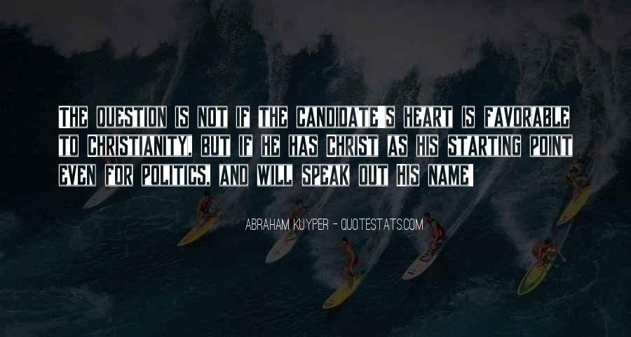 Politics And Christianity Quotes #1710739