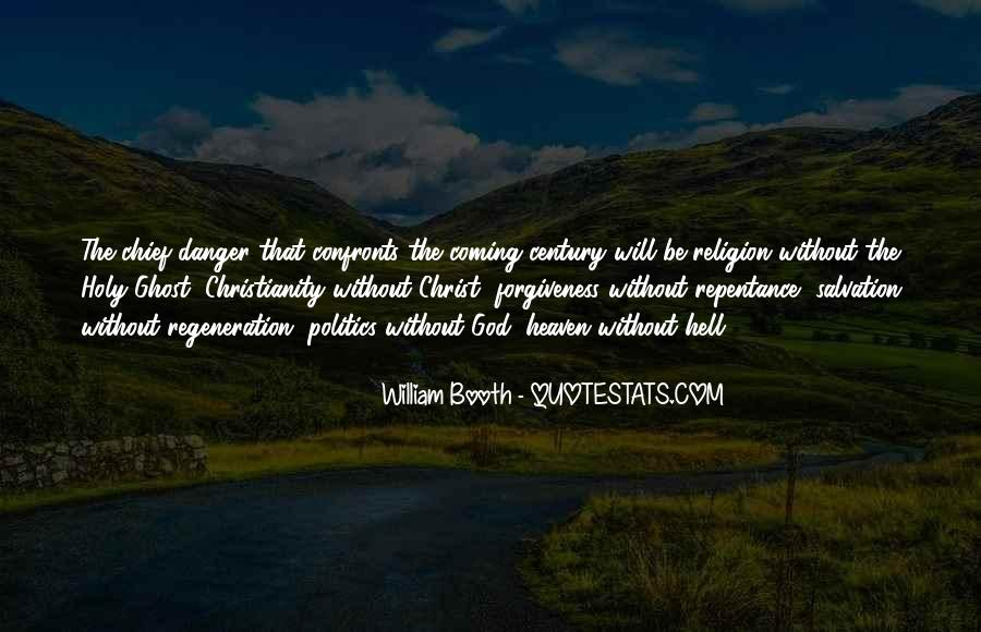 Politics And Christianity Quotes #1780789