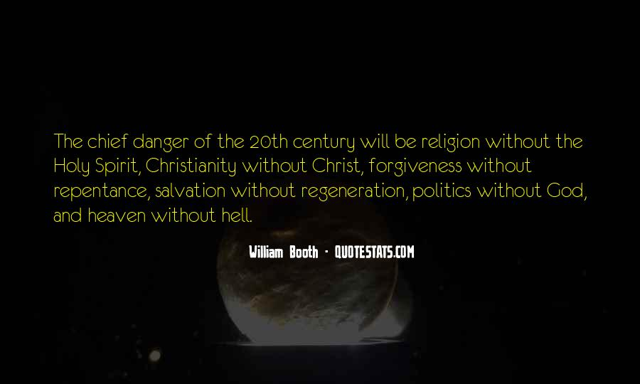 Politics And Christianity Quotes #182050