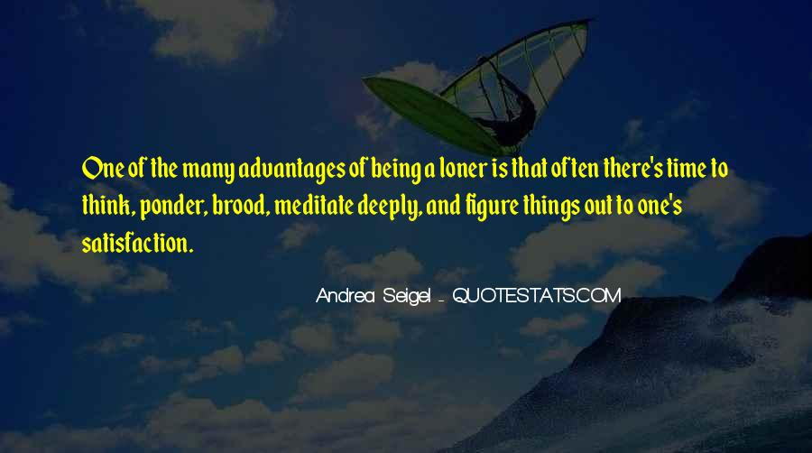 Ponder On This Quotes #145876