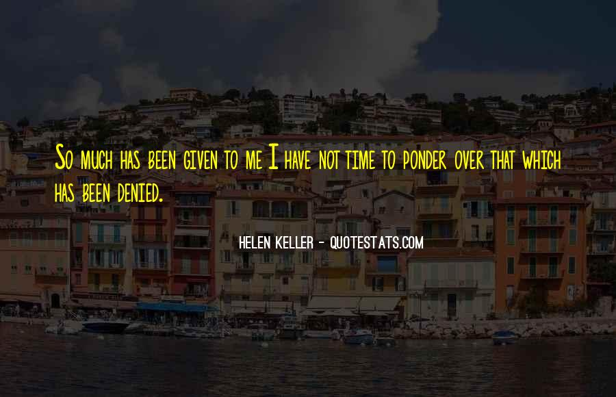 Ponder On This Quotes #43386