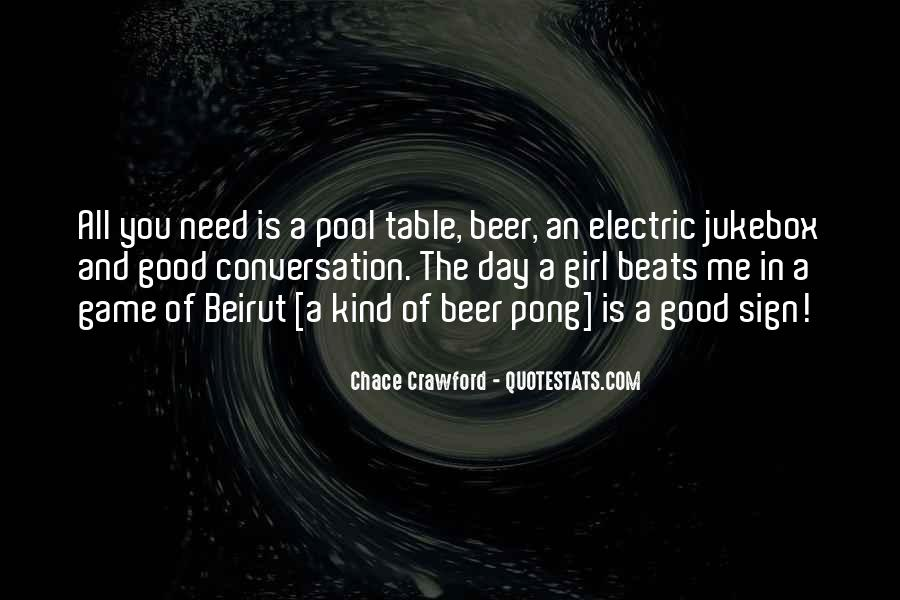 Pool Table Quotes #580541