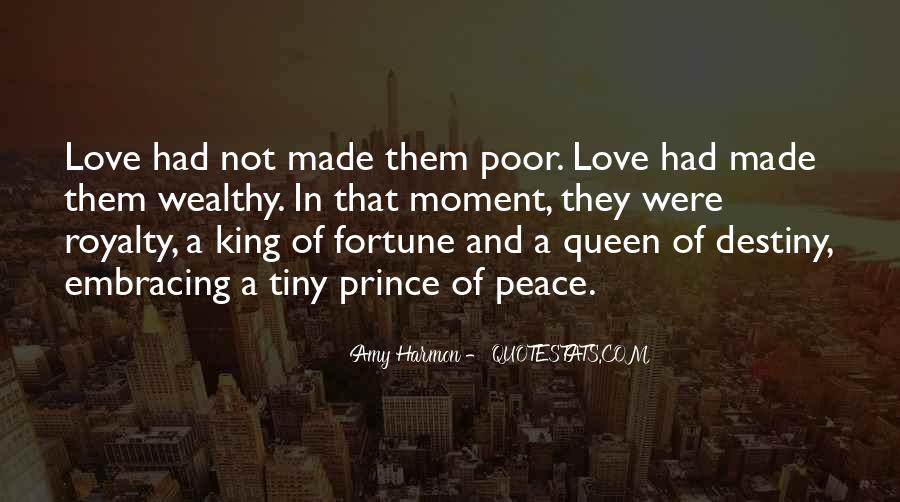 Poor And Wealthy Quotes #1075565