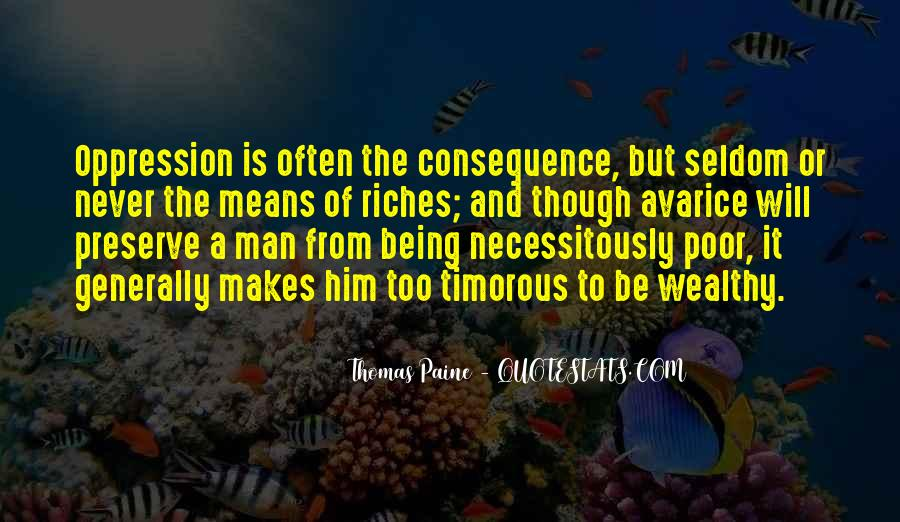 Poor And Wealthy Quotes #1678978