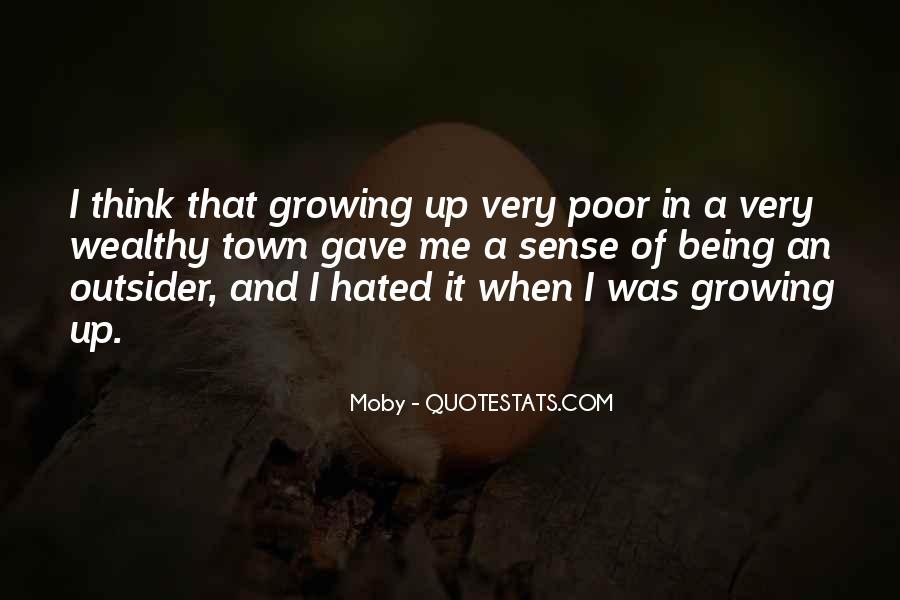 Poor And Wealthy Quotes #1758965