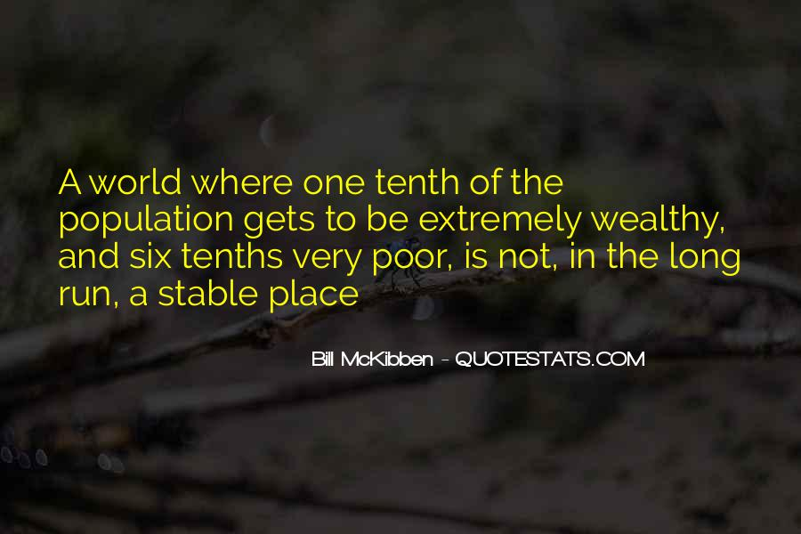 Poor And Wealthy Quotes #1809590