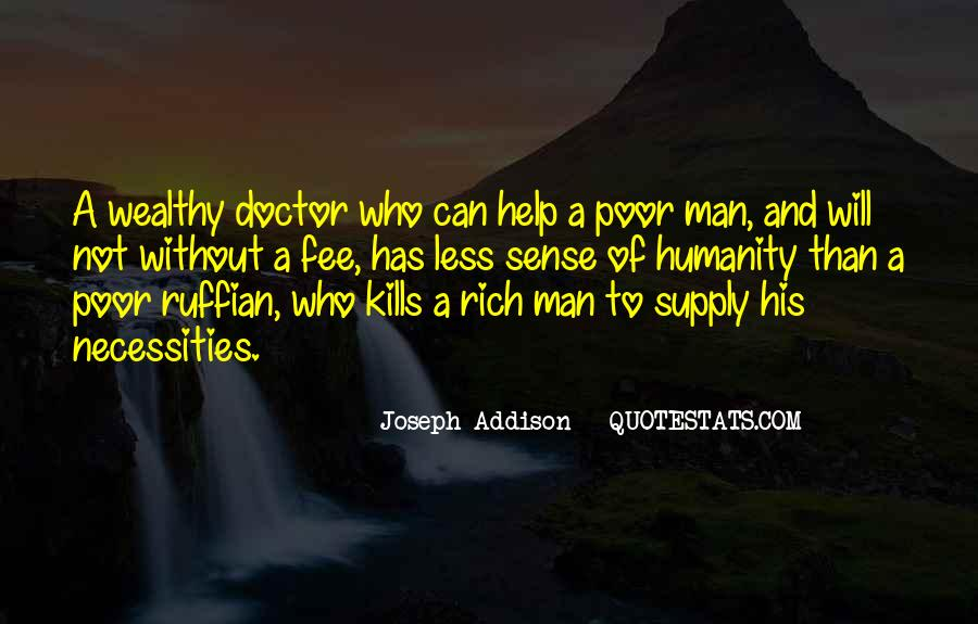Poor And Wealthy Quotes #1856658