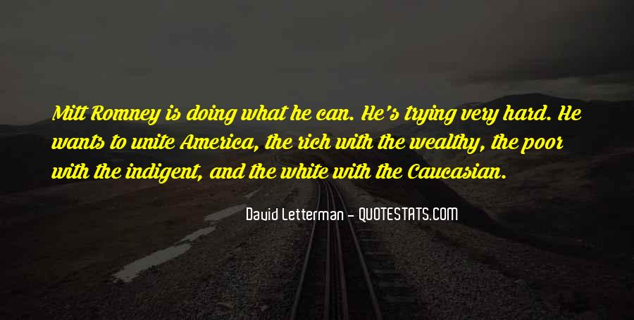 Poor And Wealthy Quotes #522374