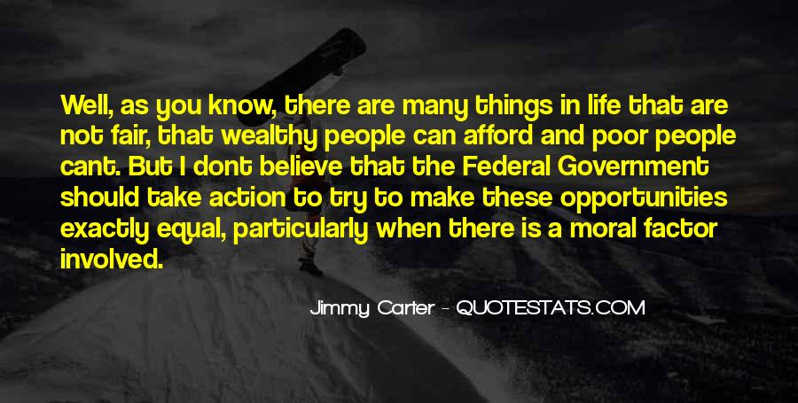 Poor And Wealthy Quotes #555210