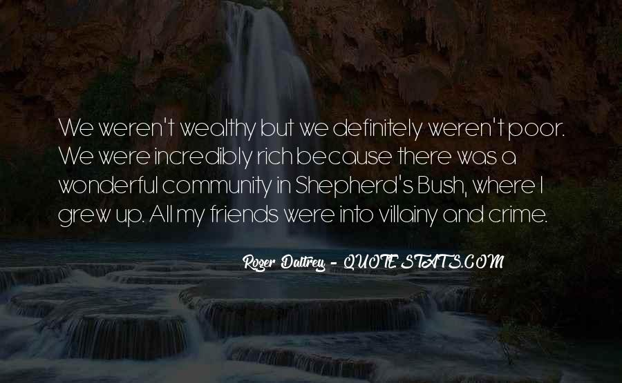 Poor And Wealthy Quotes #67919