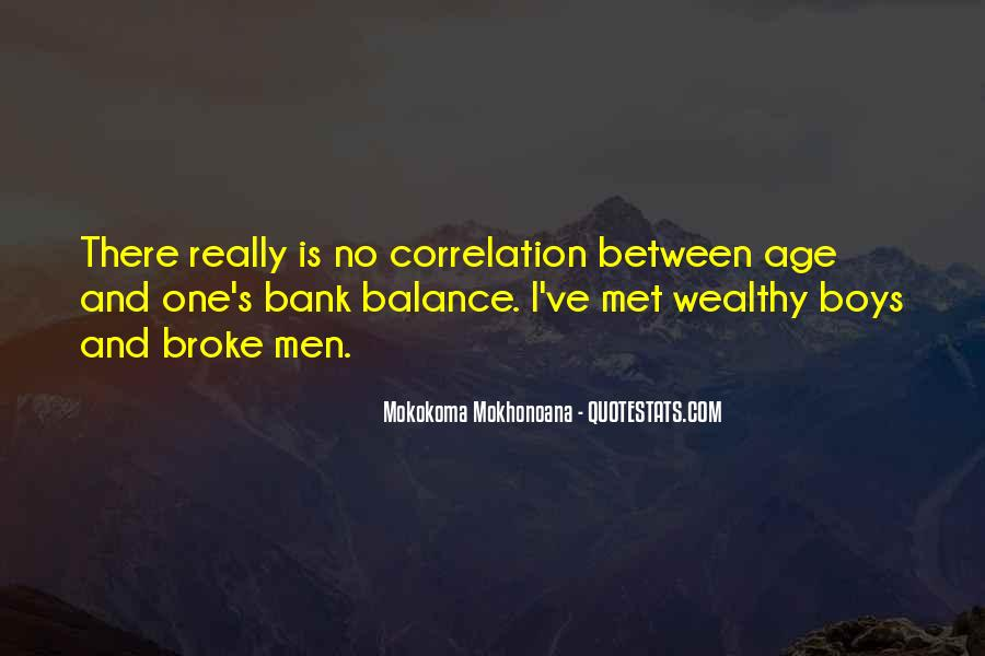 Poor And Wealthy Quotes #839890