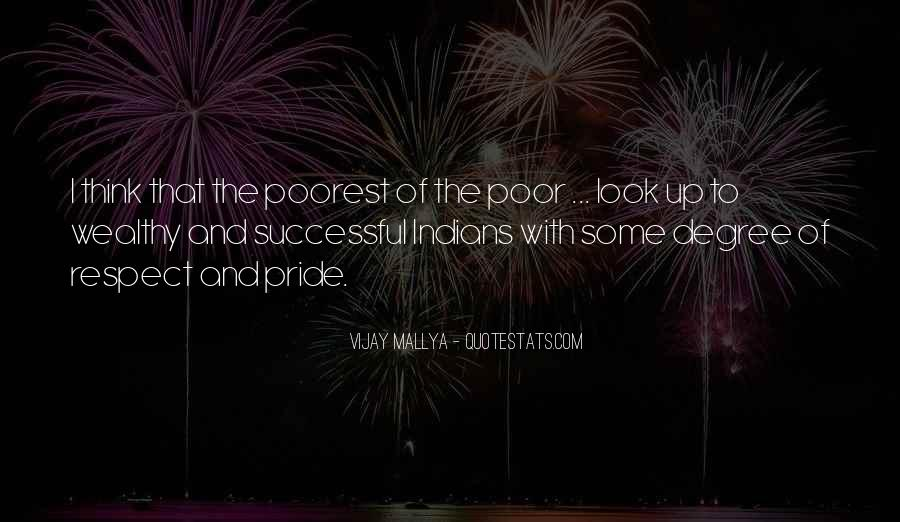 Poor And Wealthy Quotes #971369