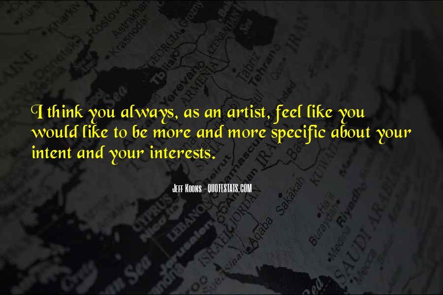 Pop Art Artist Quotes #20276
