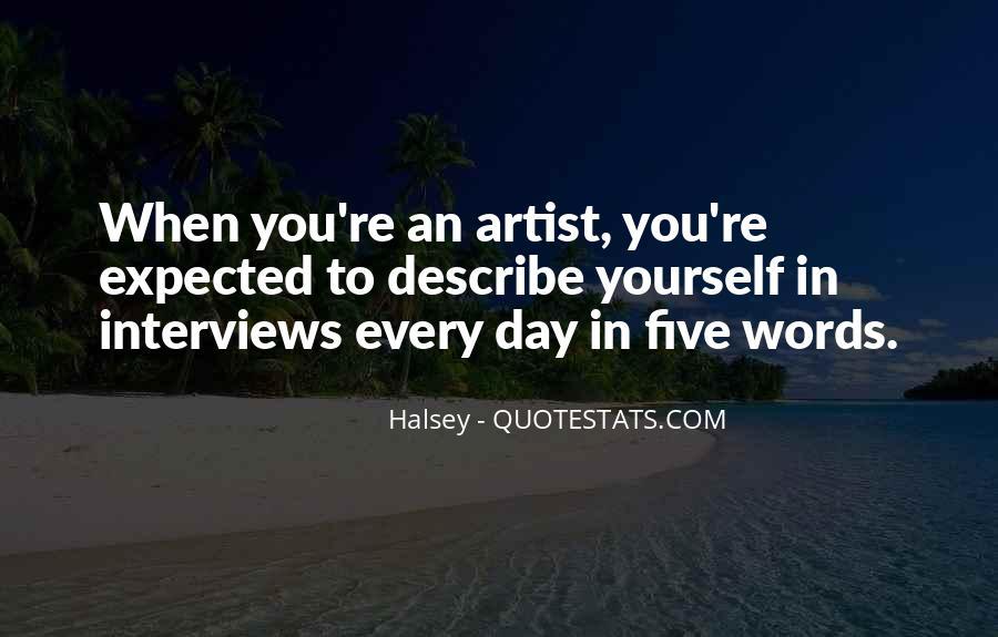 Pop Art Artist Quotes #3991