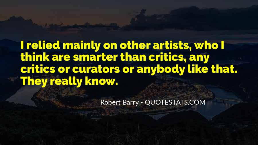 Pop Art Artist Quotes #9086