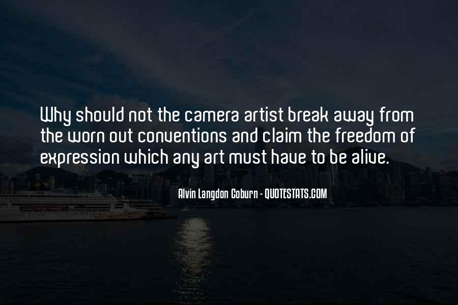 Pop Art Artist Quotes #9153