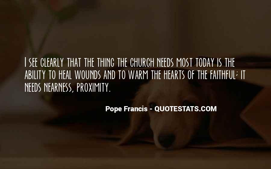 Pope Francis I Quotes #264721