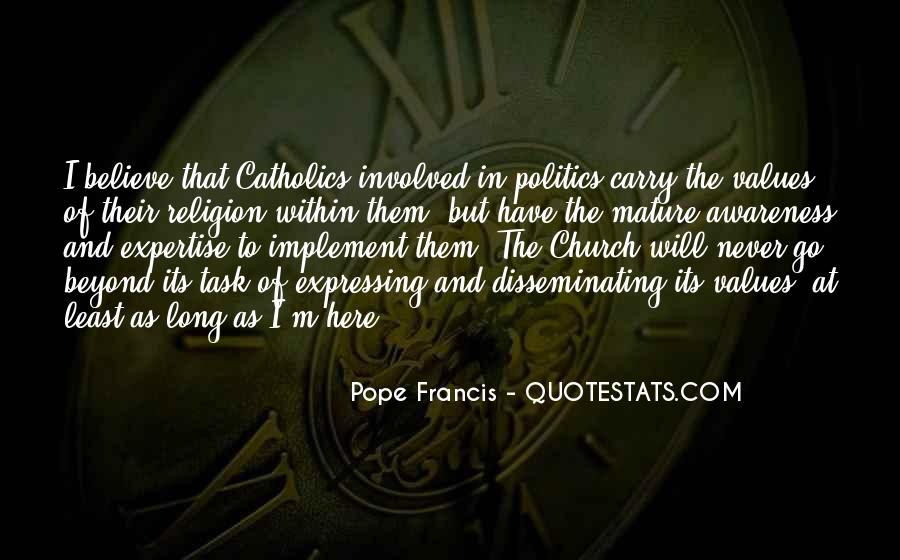 Pope Francis I Quotes #87387