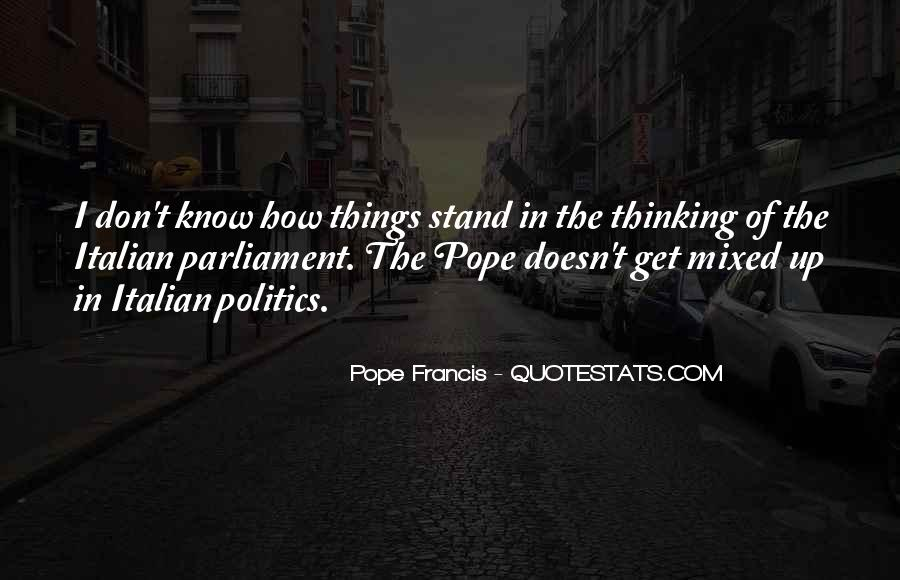 Pope Francis I Quotes #879257