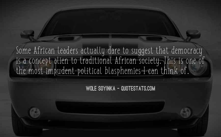 Quotes About Wole Soyinka #1198810