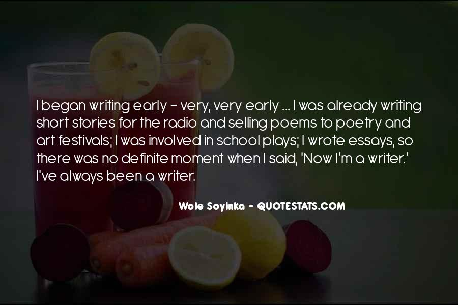 Quotes About Wole Soyinka #174784