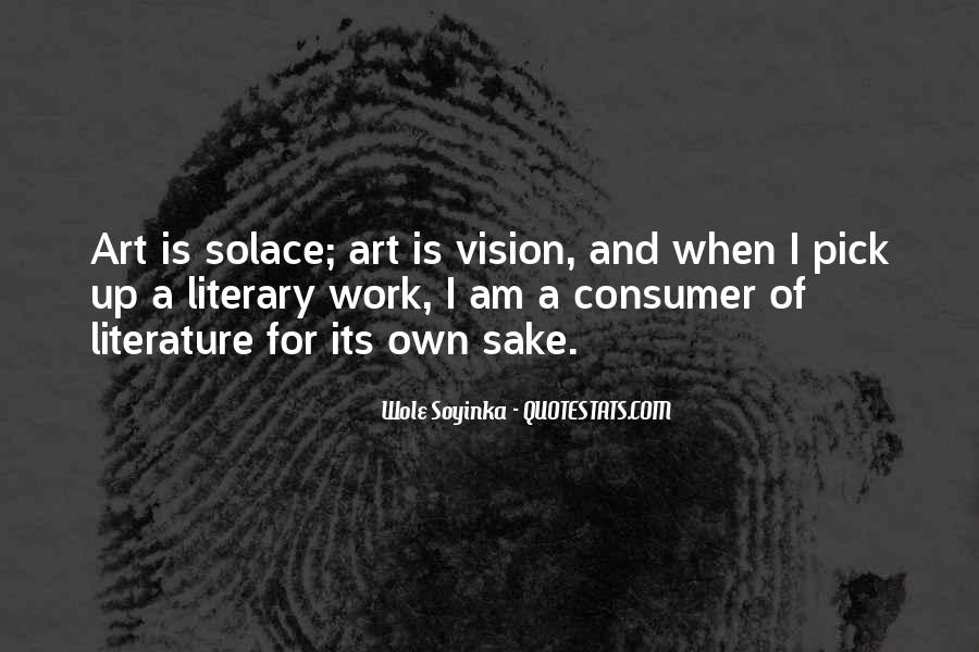 Quotes About Wole Soyinka #295476