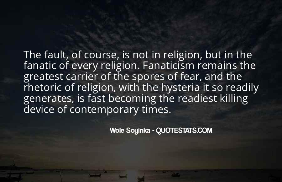 Quotes About Wole Soyinka #678932