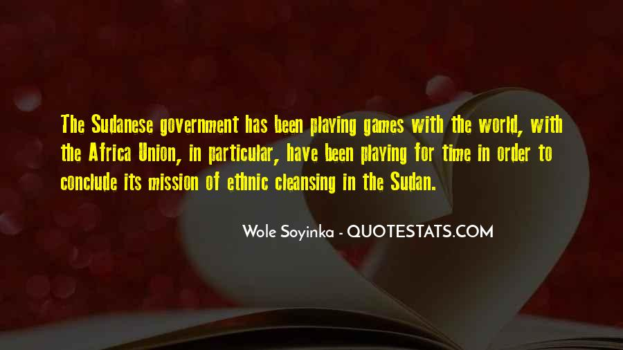 Quotes About Wole Soyinka #744949
