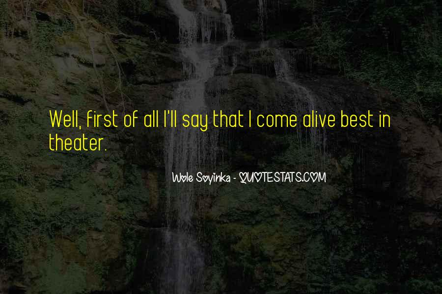Quotes About Wole Soyinka #97003
