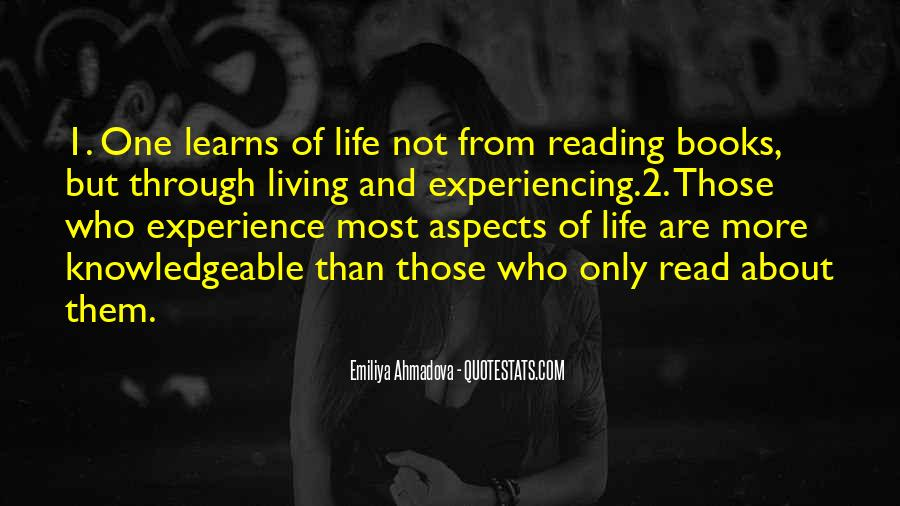 Quotes About About Living Life #123643