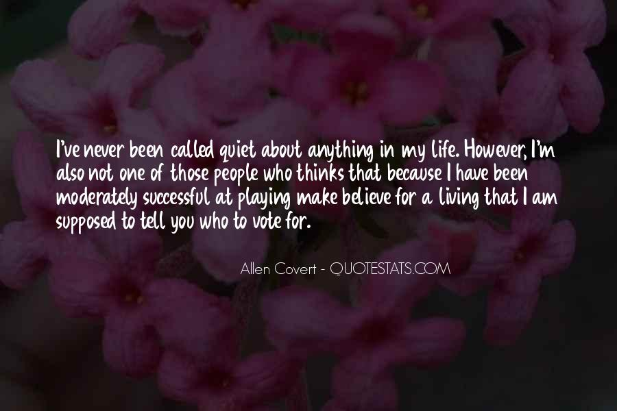 Quotes About About Living Life #176284