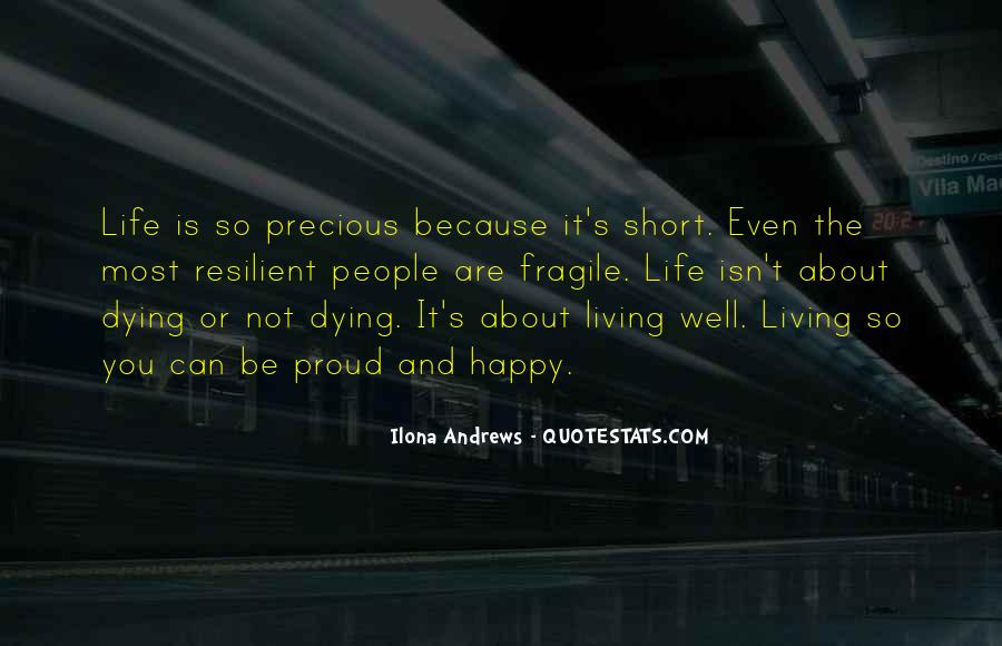 Quotes About About Living Life #213071