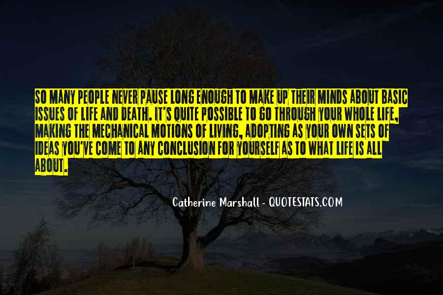 Quotes About About Living Life #300029