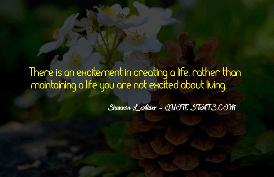 Quotes About About Living Life #62271