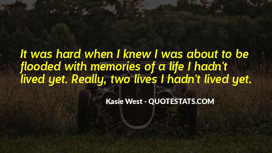 Quotes About About Living Life #72749