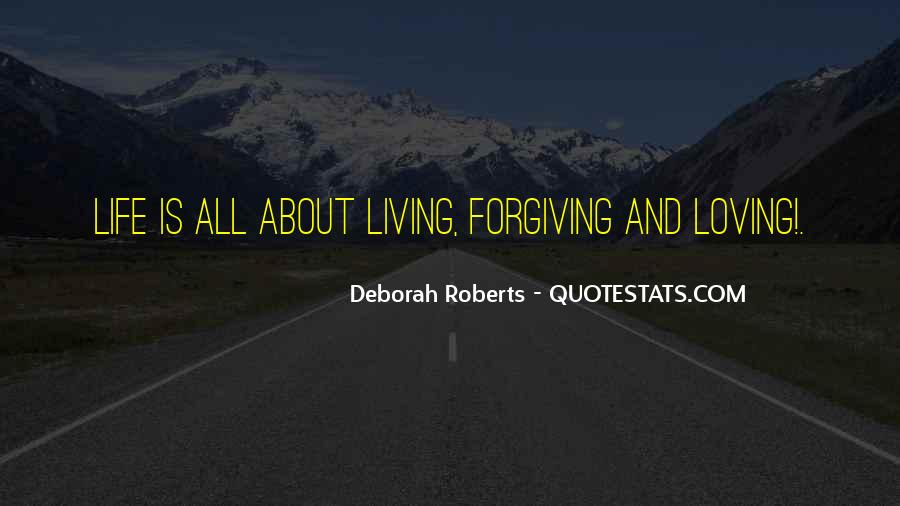 Quotes About About Living Life #98581