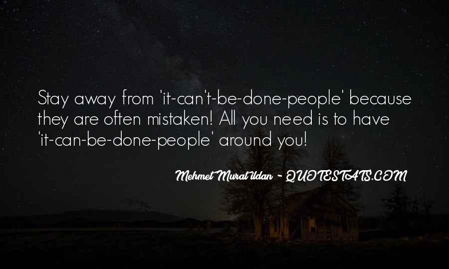 Positive Mistaken Quotes #1318251