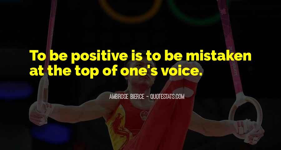 Positive Mistaken Quotes #1471924