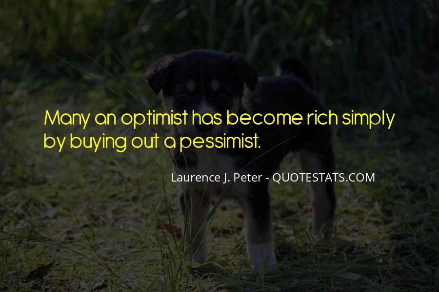 Positive Pessimist Quotes #74483