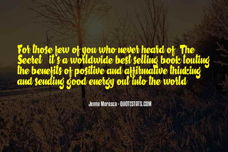 Positive Selling Quotes #390537