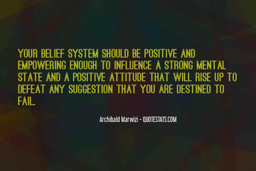 Positive Suggestion Quotes #928449
