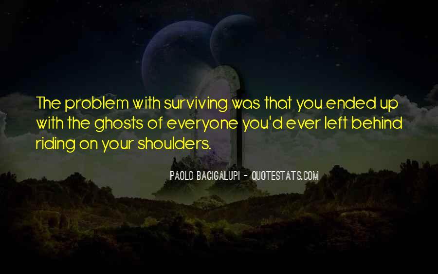 Quotes About Survivor Guilt #1408870