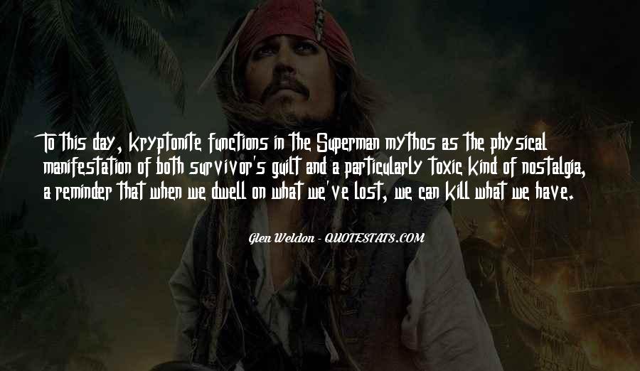 Quotes About Survivor Guilt #629039