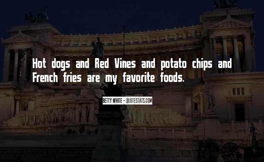 Potato Fries Quotes #535055